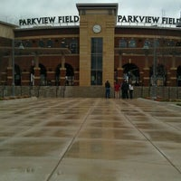 Photo taken at Parkview Field by Meghan E. on 4/16/2011