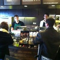Photo taken at Starbucks by Adrian R. on 1/13/2012