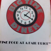 Photo taken at Big Time Diner by Chris C. on 8/2/2011