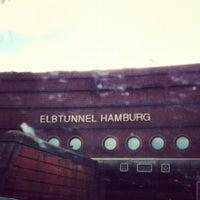 Photo taken at Elbtunnel by Daniela W. on 8/11/2012