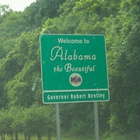 Photo taken at Alabama/Tennessee State Line by Matthew H. on 5/12/2012