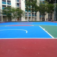 Photo taken at St George Basketball Court by Chin Yuan N. on 7/16/2011