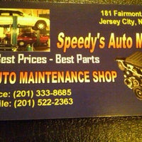 Photo taken at Speedy's Auto Motion by Joi P. on 3/19/2011