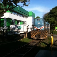Photo taken at Andén Tren Urbano (Universidad Latina) by Eduardo C. on 6/22/2011