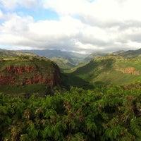 Photo taken at Hanapepe Canyon Lookout by Bob K. on 11/29/2011