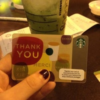 Photo taken at Starbucks by samantha c. on 3/1/2012