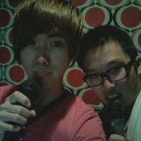 Photo taken at K Box Plus by Terence T. on 5/17/2012