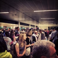Photo taken at Security/Passport Control - T1 by Evan B. on 6/21/2012