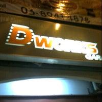 Photo taken at DWorks Garage by Poh H. on 4/13/2012