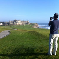 Photo taken at Half Moon Bay Golf Links by Ryan S. G. on 5/11/2012