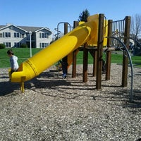 Photo taken at Playground @ Forest Run Apartments by Monica A. on 4/12/2012