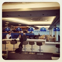 Photo taken at Delta Sky Club by Michael S. on 2/20/2012