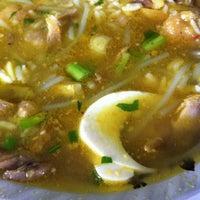 Photo taken at Soto Ayam Cak To by Yogi U. on 2/18/2012