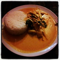 Photo taken at KisParázs Thai Soup & Wok Bar by Geri Z. on 7/10/2012