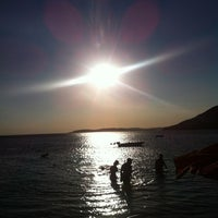 Photo taken at Ocaklar Sahili by Evren A. on 8/24/2012