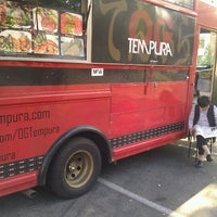 Photo taken at OG Tempura Truck by Monique A. on 4/10/2012