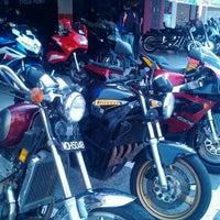 Photo taken at Cycle Point Motosport Sdn Bhd Nilai by Raja Juliana R. on 3/17/2012