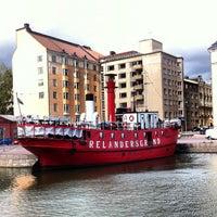 8/8/2012 tarihinde Albert C.ziyaretçi tarafından Lightship Relandersgrund'de çekilen fotoğraf