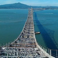 Photo taken at Richmond-San Rafael Bridge by D W. on 10/12/2011