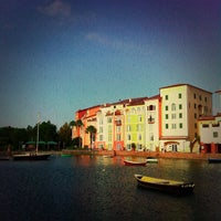 Photo taken at Loews Portofino Bay Hotel at Universal Orlando by Douglas G. on 11/5/2011