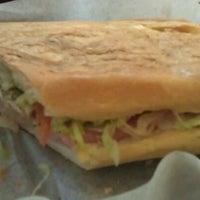 Photo taken at Aguila Sandwich Shop by Kapitan B. on 9/8/2011