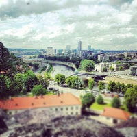 Photo taken at Gediminas' Tower of the Upper Castle by Agnė L. on 6/10/2012