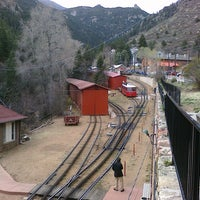 Photo taken at Pikes Peak Cog Railway by Kenneth S. on 4/23/2011