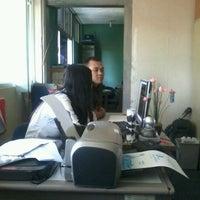 Photo taken at PDAM Tirta Raharja by mefi r. on 12/23/2011
