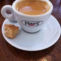 Photo taken at Fran's Café by Guilherme S. on 8/18/2011