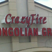 Photo taken at CrazyFire Mongolian Grill by Richard B. on 7/16/2012