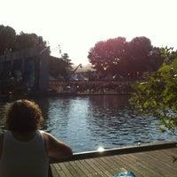 Photo taken at Sloterparkbad by Sebastiaan S. on 8/11/2012