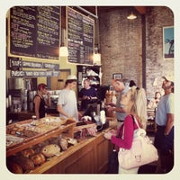 Photo taken at August First Bakery by Jessy W. on 8/23/2012