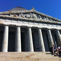 Photo taken at Veteran Memorial by Victoria D. on 2/23/2012