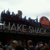 Photo taken at Shake Shack by jaz on 9/10/2011