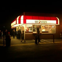 Photo taken at Brusters Ice Cream by Dave F. on 9/18/2011