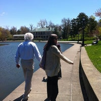 Photo taken at Delaware Park by Jan W. on 5/8/2011