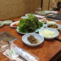 Photo taken at 백상갈비 by Jae Hyun K. on 5/17/2012