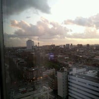 Photo taken at Rotterdam Marriott Hotel by Jolanda W. on 12/9/2011