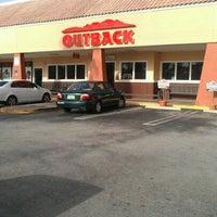 Photo taken at Outback Steakhouse by Marta Z. on 7/24/2012