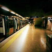 Photo taken at Metro São Sebastião [AZ,VM] by Rodolfo S. on 5/16/2011