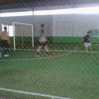 Photo taken at Goedang Futsal by Yosep R. on 3/11/2011