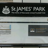 Photo taken at St James' Park by Marco D. on 5/15/2012