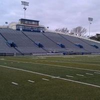 Photo taken at Foreman Field at S.B. Ballard Stadium by Mark H. on 12/6/2011