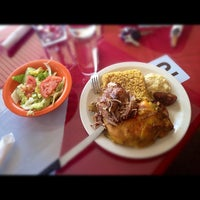 Photo taken at D'Mangu Restaurant by Adrian M. on 2/26/2012