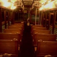 Photo taken at M-Line Trolley by Mary B. on 10/13/2011
