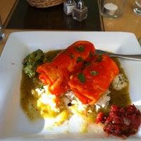 Photo taken at Leaf Vegetarian Restaurant by Ed i. on 6/16/2011