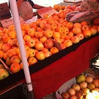 Photo taken at Chaowai Farmer's Market by PotatoGirl on 9/12/2012