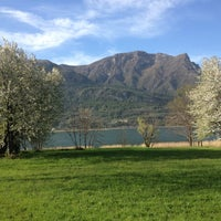 Photo taken at Lago di Annone by Giuseppe F. on 3/31/2012