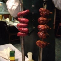 Photo taken at Green Field Churrascaria by Michelle K. on 3/4/2012