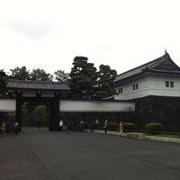 Photo taken at Sakuradamon Gate by Osaka T. on 5/1/2012